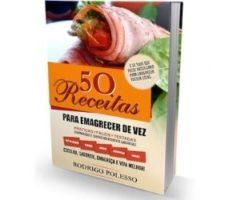 O livro 50 receitas para emagrecer de vez pdf do Rodrigo Polesso funciona? A verdade