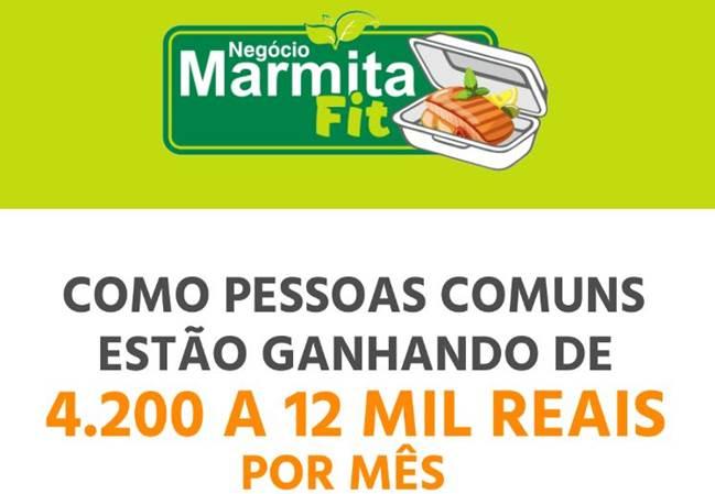 negócio marmita fit funciona